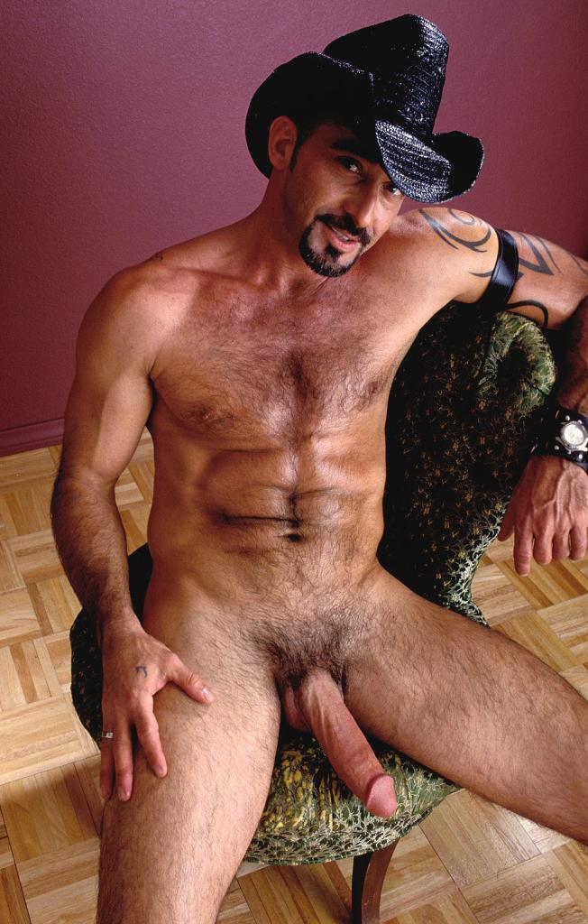 Naked Hairy Gay Cowboys